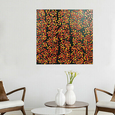 Abstract Hand Painted 0il Panting Stretched Canvas Home Decor Framed - Cherry