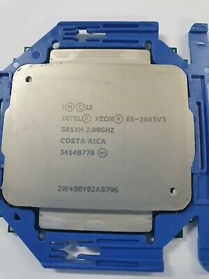 Intel Xeon E5-2683V3 2.0ghz 14 core 35mb Smart Cache CPU SR1XH Processor