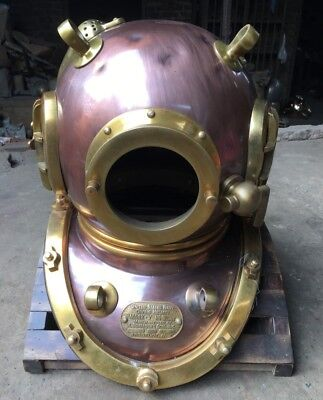 Collectibles Vintage Deep Diving Scuba Style Divers Diving helmet Replica Gift