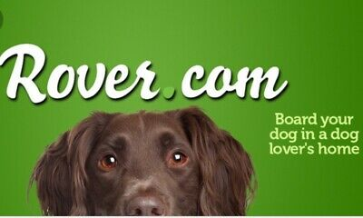 $10 ROVER.COM Gift For Your First Pet Boarding/Walking Service.New Accounts Only