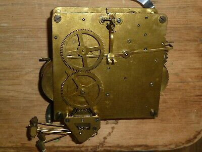 1930's German Westminster Chime clock movement for spares - Made in Wurttemberg