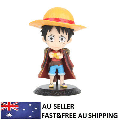 Anime One Piece The Grandline Men Monkey D Luffy PVC Action Figure Model Toy