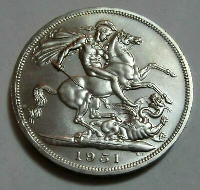1951 Festival of Britain 5 Shillings / Crown - King George VI (Boxed)