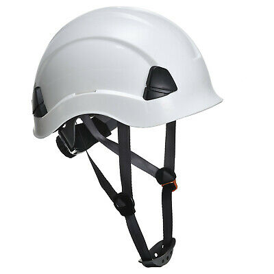 Hard Hat & Chin Strap Scaffolding Climbing Safety Helmet 5 Colours Portwest PS53