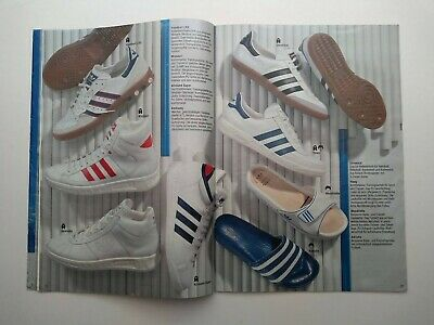 Very Rare German Adidas Catalogue 1986 - Vintage Trainers, Clothing, bags etc.
