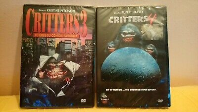 Pack 2 Dvd  Critters 3+4