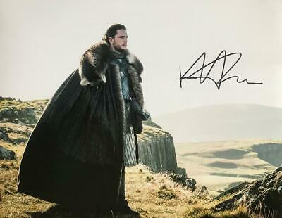 KIT HARINGTON Signed 11x14 Photo (Game of Thrones) Authentic Autograph / COA