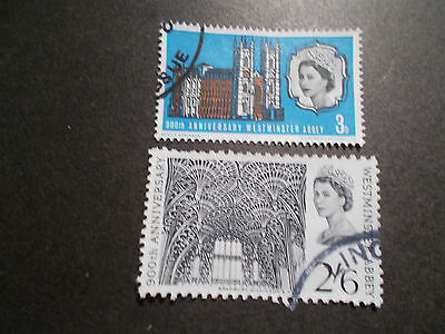 GB 1966 Commemorative Stamps~Abbey~Fine Used Set~UK Seller