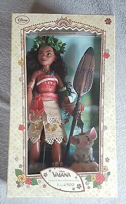 Disney Limited Edition Doll Limitierte Puppe Moana Vaiana Puppe Designer