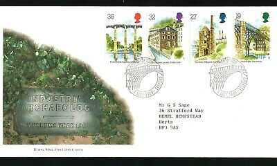 GB.FDC.  1989  Industrial Archaeology  (Telford  H/S)  (B)