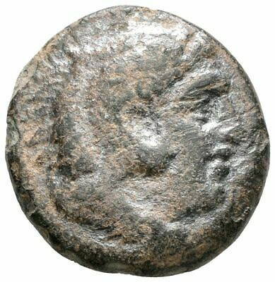 KOC Greek Coins.ALEXANDER III THE GREAT, 336-323. Bronze, Macedonia. AE. 16mm.