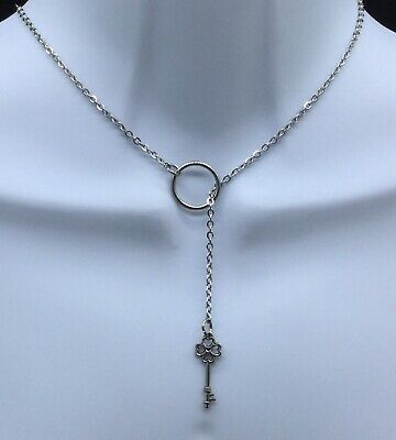 BDSM, SUBMISSIVE,DAY COLLAR, Discreet Collar, O Ring, Sterling ...