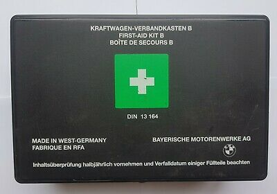 *RARE* BMW E36 First Aid Kit Made In West Germany