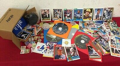Junk Drawer Lot Collectibles Trading Cards Odd And Ends #SG1