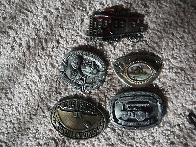 Lot of Vintage Belt Buckles