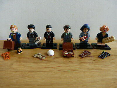 Lego 6 Minifigures Serie Complete 71022 Beasts Animaux Fantastiques Harry Potter