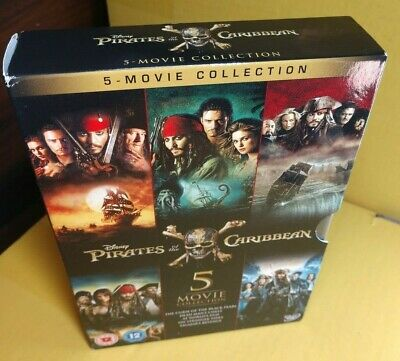Pirates of the Caribbean 5-MovieSet (DVD)REGION 2 (UK)READ DESCRIPTION-Free S&H~
