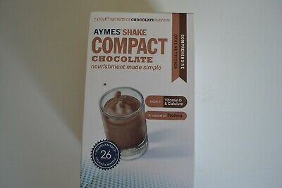 Aymes shake  compact chocolate flavour 1 x 7x57g sachets
