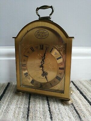 Rare Vintage Fully Working Original Junghans ATO-Electronic Mantle Clock, 1960s