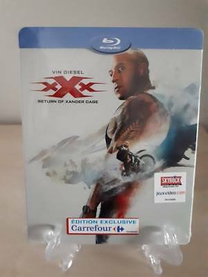 XXX - RETURN OF XANDER CAGE -  Steelbook   NEUF SOUS BLISTER
