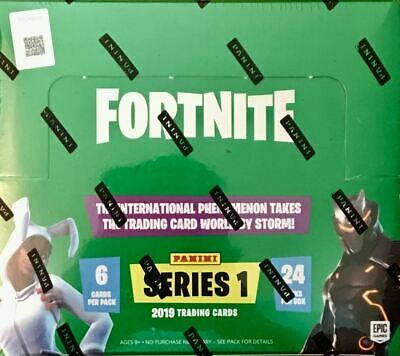 2019 Panini Fortnite Series 1 Trading Cards (HOBBY BOX)