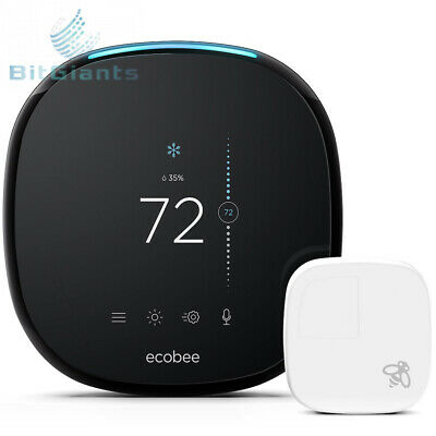 NEW ECOBEE4 SMART Thermostat Mounting Plate (No Thermostat ... on