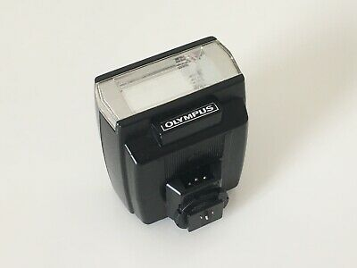 Olympus T20 Shoe Mount Flash Gun, Excellent Used Condition, With Case