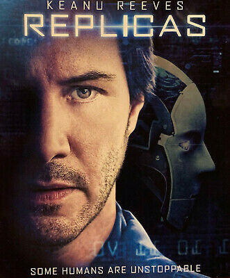 Replicas (DVD OR Digital, 2019) - Pick One or Both - Taken From Blu-ray
