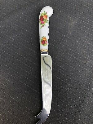 ROYAL ALBERT OLD COUNTRY ROSE Cheese Knife