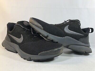 32b7b21189955 Nike Presto Fly Kid's Athletic/Casual Shoes Size 6Y Triple Black 913966-005