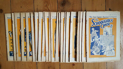 The Schoolgirl's Own Feb 20th 1932 - Feb 3rd 1934 intermittently  - 23 Issues