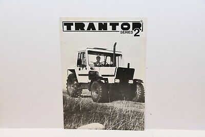 Trantor Series 2 high speed tractor brochure 4 pages with additional price list
