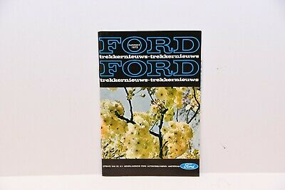 Ford tractor magazine brochure Dutch market with County loader tractor 1977