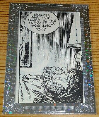 Dead World Silver Foil Framed Comic Panel Card - DCP-45 #3 of 12 Breygent 2012