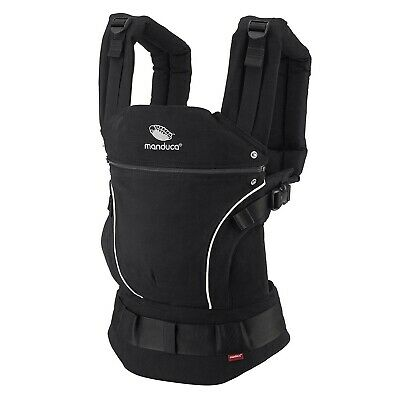 Baby Carrier Manduca First Baby Carrier Pure Cotton Night Black