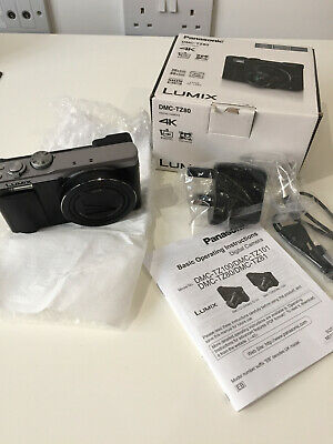 Panasonic DMC-TZ80 Lumix 18.1MP 4K Superzoom Camera Silver