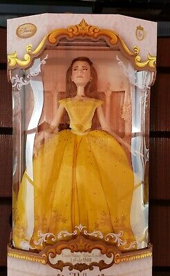 Disney Store Limited Edition Live Action Belle Doll Puppe Beauty and the Beast