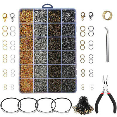 53134d7605 Jewelry Findings Jewelry Making Starter Kit Beading Making Repair Tools Set  G*