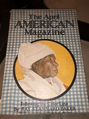 "1907 The April American Magazine""Following The Color Line ""Rare Black Americana"