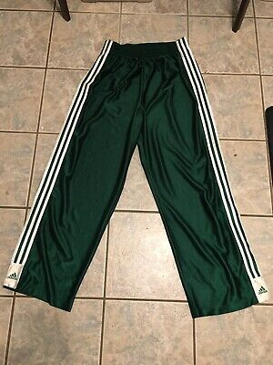 ADIDAS VINTAGE MENS Large Pants Side Button Tear Away 90s 3
