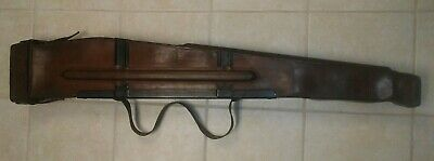 Wwii Browning Bar Automatic M1918 A1 A2 Leather Case Rifle Scabbard