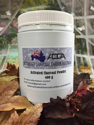 400gm New Activated Charcoal/Carbon Powder Food Grade High Quality