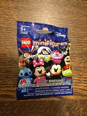 LEGO Collectible Minifigures: Disney Series: 71012 - One Random Sealed Pack!