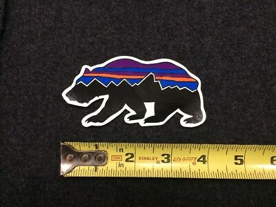 2c11e69a7 NEW LARGE PATAGONIA Snook Sticker - Fitz Roy Logo - 8