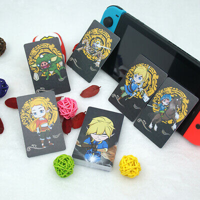 22PCS NFC Game Cards for Nintendo Switch/Wii U&3DS for the Legend of Zelda BOTW