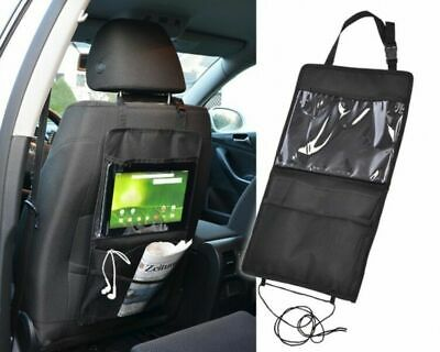 Kids Car Seat Back Hanging Storage Phone Tablet Holder Organizer Bag For iPad UK