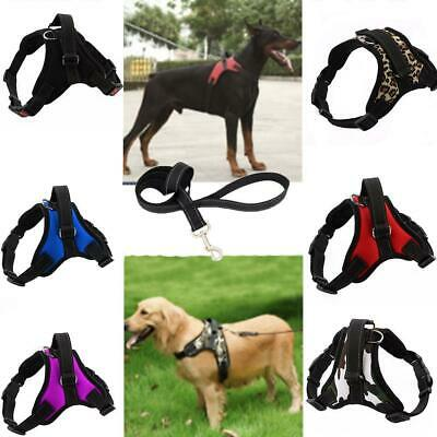 No Pull Adjustable Quality Nylon Harness Vest For Dog Traction Belt Pet Supplies
