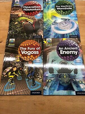 Project X Alien Adventures Book Band 13 Grey Oxford Level 14 X4 Books