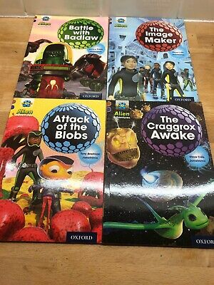 Project X Alien Adventures Book Band 12 Brown Oxford Level 11 X4 Books