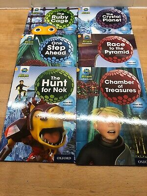 Project X Alien Adventures Book Band 9 Gold Oxford Level 9 X6 Books